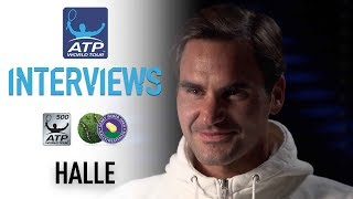 Federer: 'I Am A Winner... I'm Here To Win' In Halle 2018