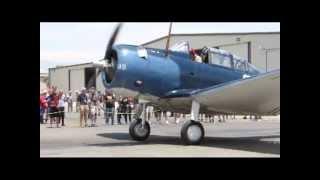 Douglas SBD Dauntless... Savior of Midway / Planes of Fame Air Museum 6-1-2013
