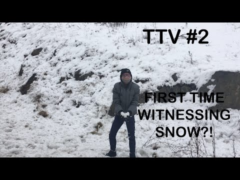 TURKEY TRAVEL VLOG #2: FIRST TIME WITNESSING SNOW?!