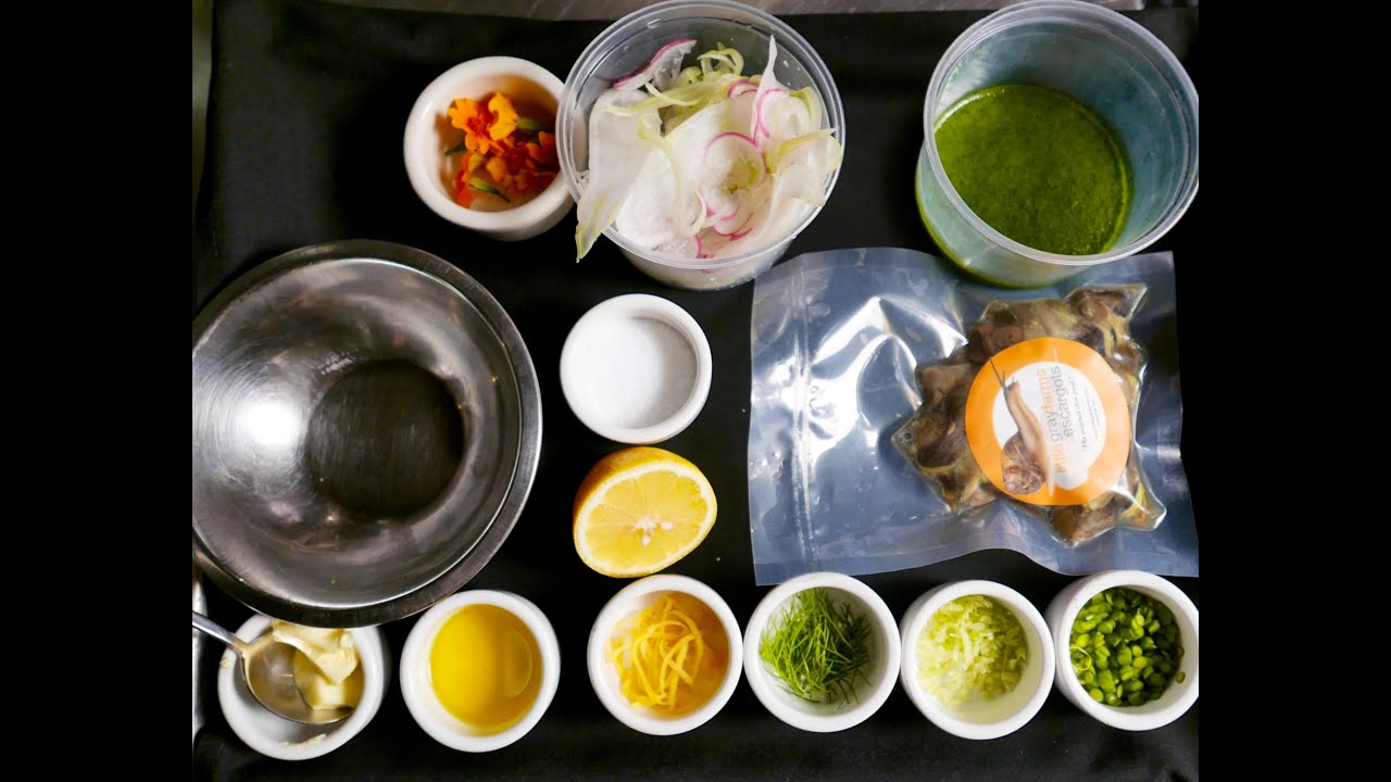 Grape snail: cooking recipe. Snail Food 39