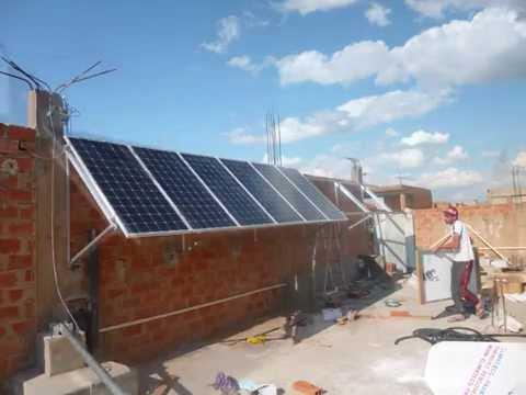 installation kit hybride panneaux solaires photovoltaique avec oliennes climat 39 eco alg rie. Black Bedroom Furniture Sets. Home Design Ideas