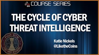 The Cycle of Cyber Threat Intelligence