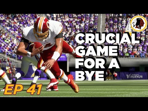 Can we CLINCH a 1st Round e???   Madden 19 Franchise  Washington Redskins  Ep 41