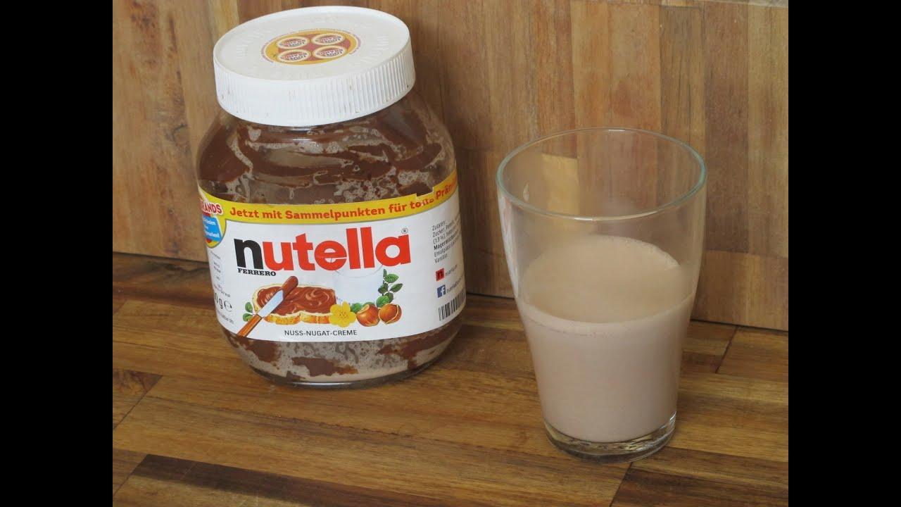 nutella kakao diy hei e schokolade aus nutellaresten youtube. Black Bedroom Furniture Sets. Home Design Ideas