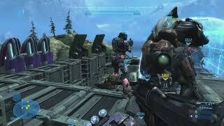 Halo Reach - SPACE STATION infection | System LiNK gameplay