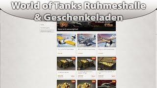 World of Tanks Neue Ruhmeshalle und ein neuer Geschenkeladen[+Fail|Deutsch]