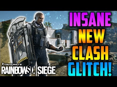 INSANE *NEW* OP CLASH SHIELD GLITCH! *AFTER PATCH* (TUTORIAL) / PREVENTING - Rainbow Six Siege