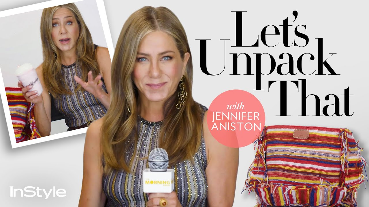Jennifer Aniston Joined Instagram Because Of Pressure From Her Friends Let S Unpack That Instyle Youtube