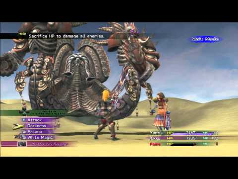 Final Fantasy X-2 Remaster - Boss: Angra Mainyu