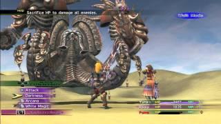 Final Fantasy X-2 Remaster - Boss: Angra Mainyu