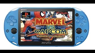 PS Vita PSP Hacks! Marvel Vs Capcom Clash of Super Heroe