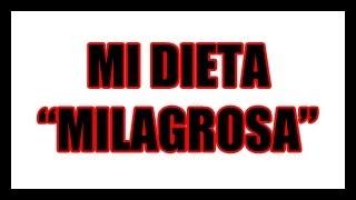 """Mi dieta """"milagrosa"""" (Voicevlog)"""