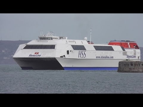 World's Biggest Fast Ferry - Stena Explorer HSS