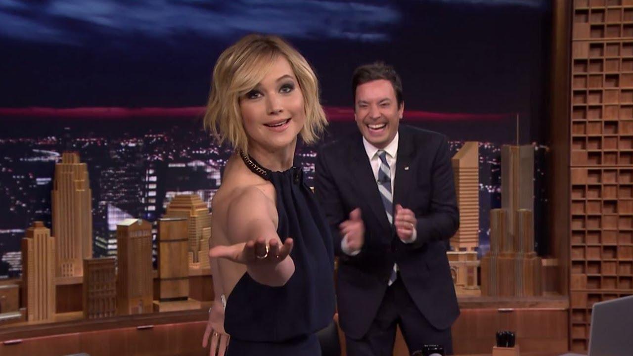 Jennifer Lawrence & Jimmy Fallon on Dancing With J-Lo ...