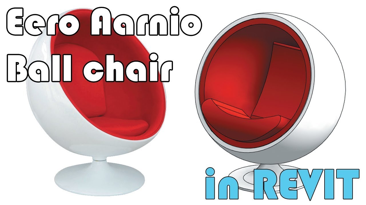 Learn Revit in 5 minutes: Ball chair [Eero Aarnio Style Ball Chair]