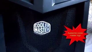 Cooler Master K281 Mid Tower Gaming Case Unboxing