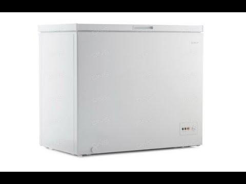 Морозильный ларь DEXP  CF249D небольшой обзор