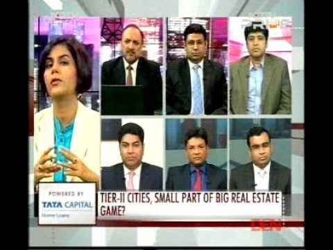 The Realty Debate - NDTV Prime - Mr. Om Chaudhry, CEO of FIRE Capital Fund (September 17, 2015)