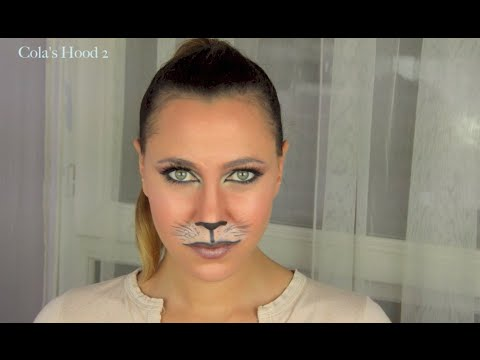 Maquillage de chat pour halloween youtube - Maquillage chat femme ...