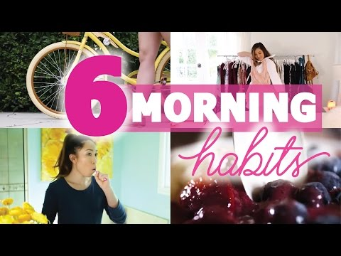 6 Morning Habits that ensure a SUCCESSFUL day!