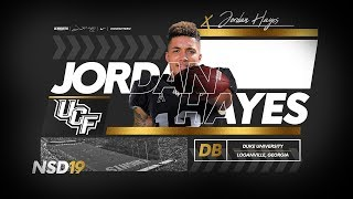 #Knighteen - Jordan Hayes, Defensive Back