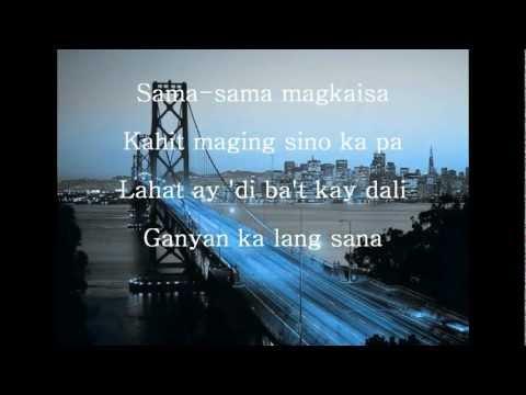 Simple Lang by Ariel Rivera(w/ lyrics)
