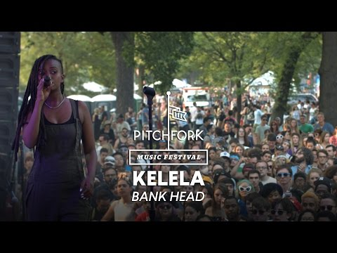 "Kelela performs ""Bank Head"" - Pitchfork Music Festival 2014"