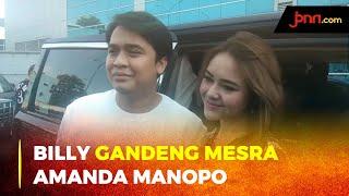 Dihadapan Awak Media, Billy Syahputra Gandeng Mesra Amanda Manopo - JPNN.com