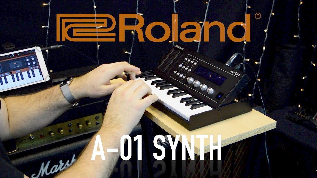 Roland A 01 Synth Midi Controller Sound Generator Youtube Multi Tone Projects