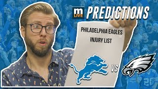 Detroit Lions vs Philadelphia Eagles final score predictions