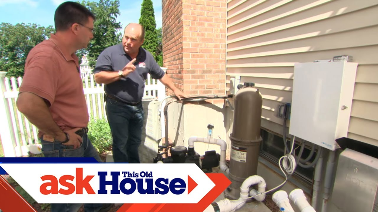 How to Heat a Swimming Pool with an Air Conditioner | Ask This Old House