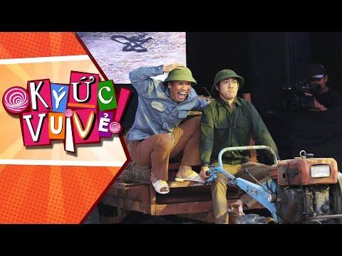 Hồng Vân phấn khích khi cả tuổi thơ bỗng chốc thu bé lại vừa bằng chiếc xe công nông   Ký Ức Vui Vẻ