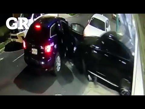 Karla Galletita Trevi -  Atropella A Ladrones Para Salvarse De Asalto