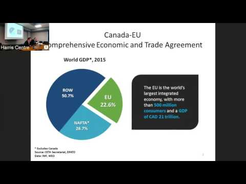 Information and Discussion Session: The Canada European Union Comprehensive Trade Agreement