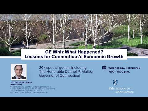 GE Whiz What Happened? Lessons for Connecticut's Economic Growth