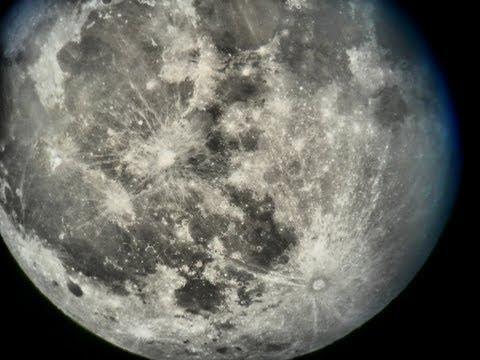 Full Moon through Skywatcher 8 inch Dobson
