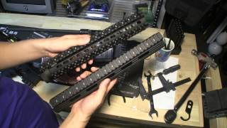 UTG Pro Super Slim vs. Quad Rail Free Float Handguard, 13-Inch Comparison