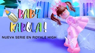 ROYALE HIGH🏰 BABY KAROLA GOES TO THE SCHOOL OF PRINCESSES - ROBLOX