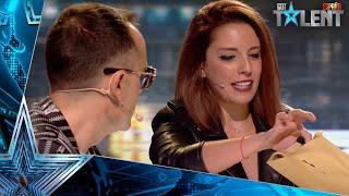 Esta MAGA emociona con su historia y sorprende con su MAGIA | Audiciones 5 | Got Talent España 2021
