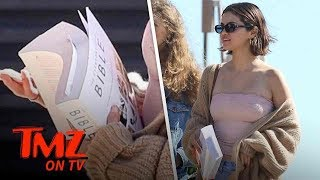 Selena Gets Cozy With The Best Book Ever | TMZ TV