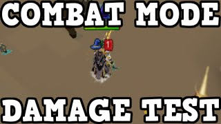 Combat Mode Damage Test! Revolution, Legacy & Manual [Runescape 2014]