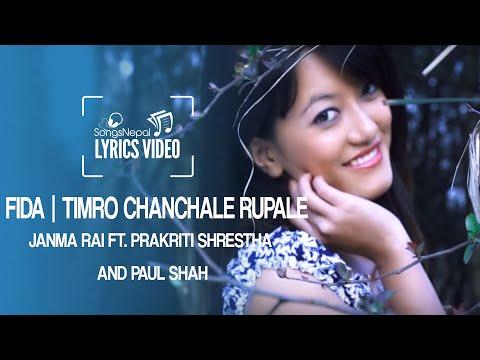 Fida - Janma Rai Ft. Prakriti Shrestha And Paul Shah - Lyrics Video | Nepali Pop Song