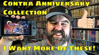 Contra Anniversary Collection is Great!  More Please!