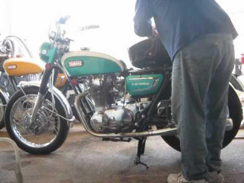 YAMAHA XS1 XS650 MOTORCYCLE 1ST START AFTER RESTORATION