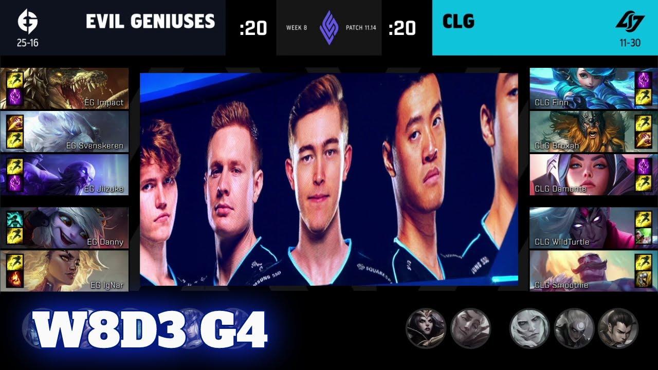 Download Evil Geniuses vs CLG | Week 8 Day 3 S11 LCS Summer 2021 | EG vs CLG W8D3 Full Game
