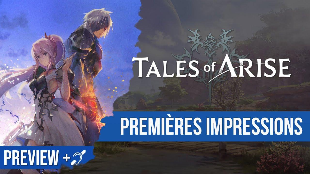 Download Preview : j'ai pu jouer à Tales of Arise et ça sent très bon ! Sous-titres dispo