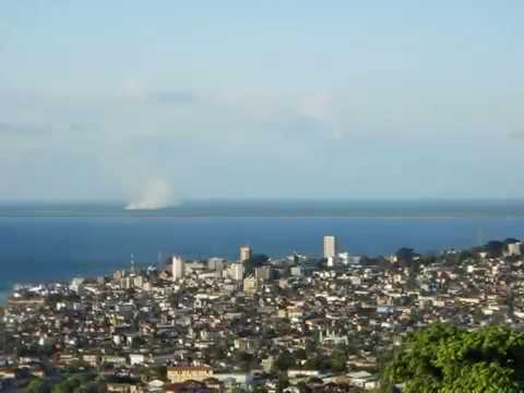 Freetown, capital of Sierra Leone, travel, hotels, city, outskirts, athmosphere, mudslides