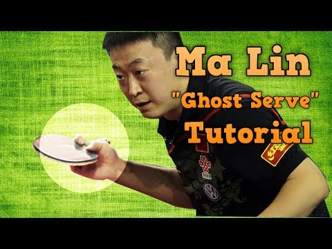 Table Tennis Serve Tutorial: Ma Lin