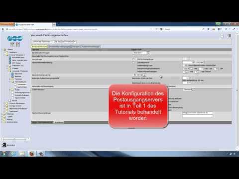 Tutorial Auerswald VMF - Einrichtung Zentrales Voicemail- und Faxsystem Teil 2