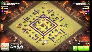 Clash Of Clans | Town Hall 7 | Spread Out Base | Funneling ATTACK | War Attack #1 | 2016 (UPDATED)